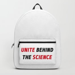 Climate Change Action Unite Behind The Science Backpack