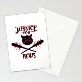 Justice for Mews Stationery Cards