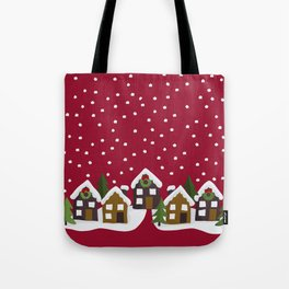 Winter idyll Tote Bag