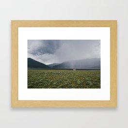 Colorado Taylor Park Reservoir  Framed Art Print