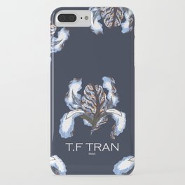 T.F TRAN BLUE SNAKE IRIS iPhone Case