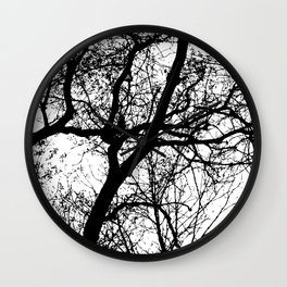 Branches 2 Wall Clock