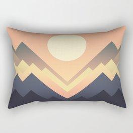 The Sun Rises Rectangular Pillow