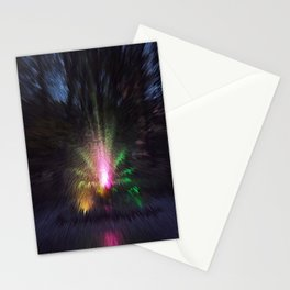 Fountain colors Stationery Cards