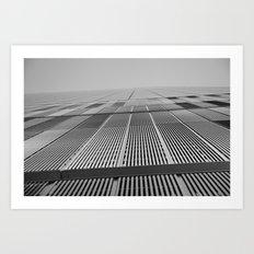 NEW YORK BUILDING.  Art Print