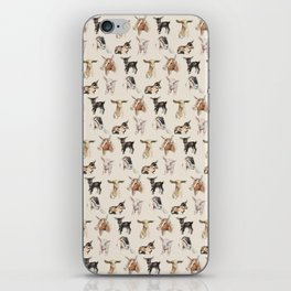 Vintage Goat All-Over Fabric Print iPhone Skin