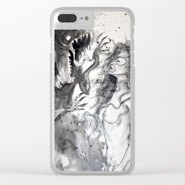 Monsters of the Mind Clear iPhone Case
