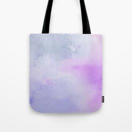 Soft Watercolours - Lavendar Tote Bag