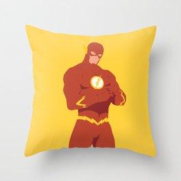 The Flash Throw Pillow
