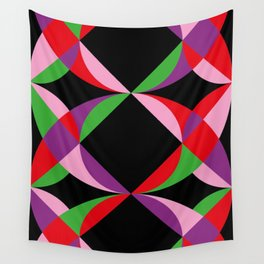 Eyes, Prisms, Colors. Wall Tapestry