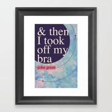 context Framed Art Print