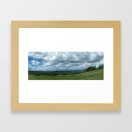 First View of the Grand Tetons Framed Art Print