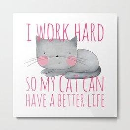 cat's life /Agat/ Metal Print