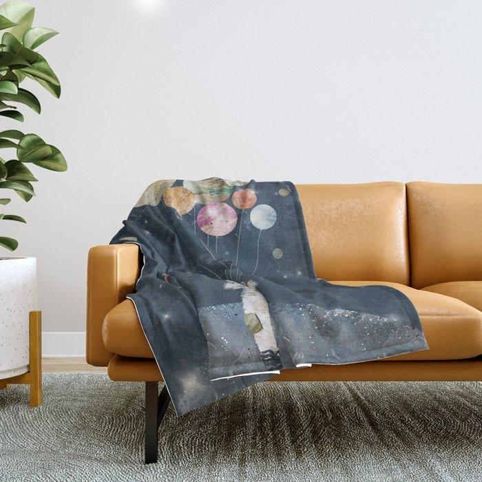 solar collector Throw Blanket