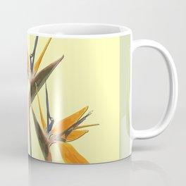 Three Paradise Flowers Strelitzia yellow R Coffee Mug