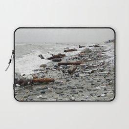 Driftwood Beach after the Storm Laptop Sleeve