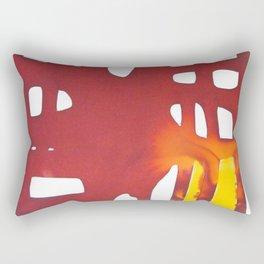 Dawn at metropolis Rectangular Pillow
