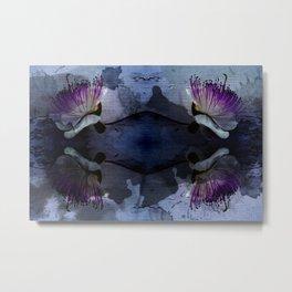 caper lily blue Metal Print
