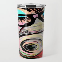 Hipster Pig Travel Mug