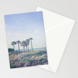 Seven Palm Trees Stationery Cards