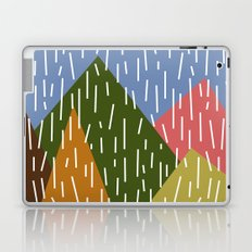 Raining Mountains Laptop & iPad Skin