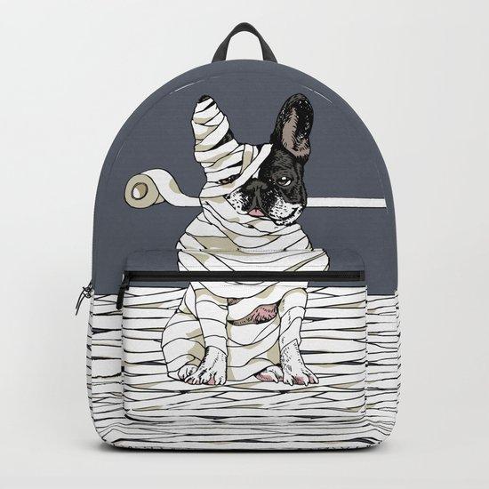 Mummy French Bulldog Backpack