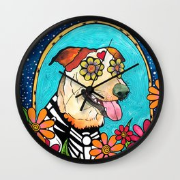 Rodeo the Red Heeler Wall Clock