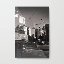 Queen Street, Toronto Metal Print