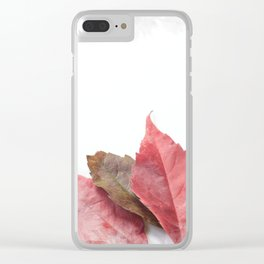 AUTUMN LEAVES #1 #decor #art #society6 Clear iPhone Case