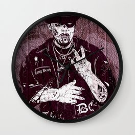 Late Dogg Wall Clock