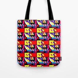 Partridge Parade Tote Bag
