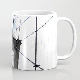 Brooklyn Bridge, quaking. Coffee Mug