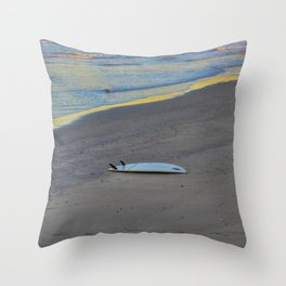 Forgotten on the Sand Throw Pillow