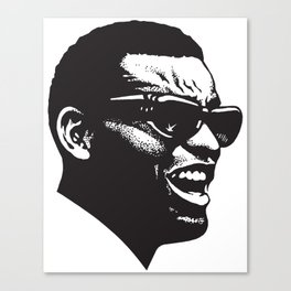 Brother Ray Canvas Print