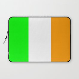 flag of ireland 5 -ireland,eire,airlann,irish,gaelic,eriu,celtic,dublin,belfast,joyce,beckett Laptop Sleeve