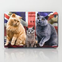 british iPad Cases featuring British Shorthair by Selina Morgan