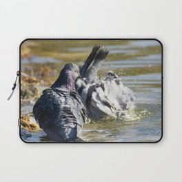 Dude! You'll scare all the chicks! Laptop Sleeve