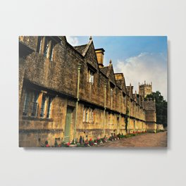 The Almshouses of Chipping Campden Metal Print