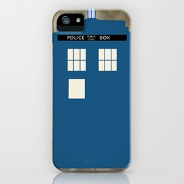 The Tardis iPhone Case