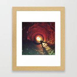 Sun Seeker's Return Framed Art Print