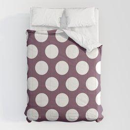 black currants dots pattern Comforters