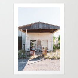 West Texas Station Art Print