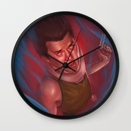 Red from Pineapple Express Wall Clock
