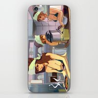 ramen iPhone & iPod Skins featuring Ramen Shop by F. Camiloza