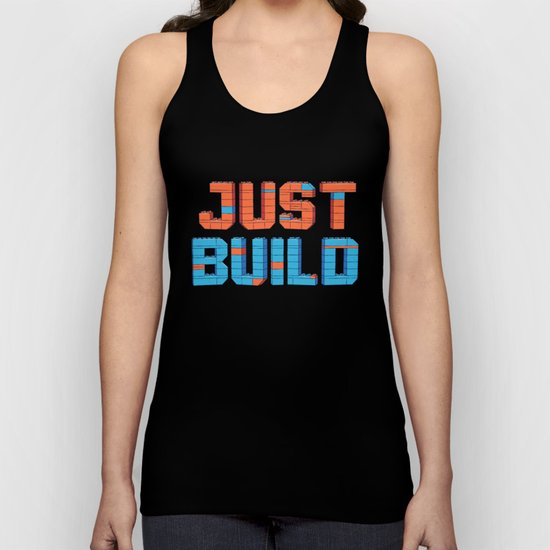 Just Build Unisex Tank Top