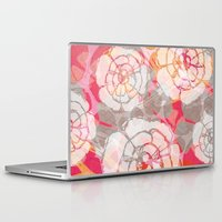 hawaiian Laptop & iPad Skins featuring Styled Hawaiian  by Claire Smillie