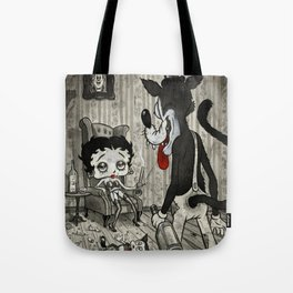 BETTY AND THE WOLF Tote Bag