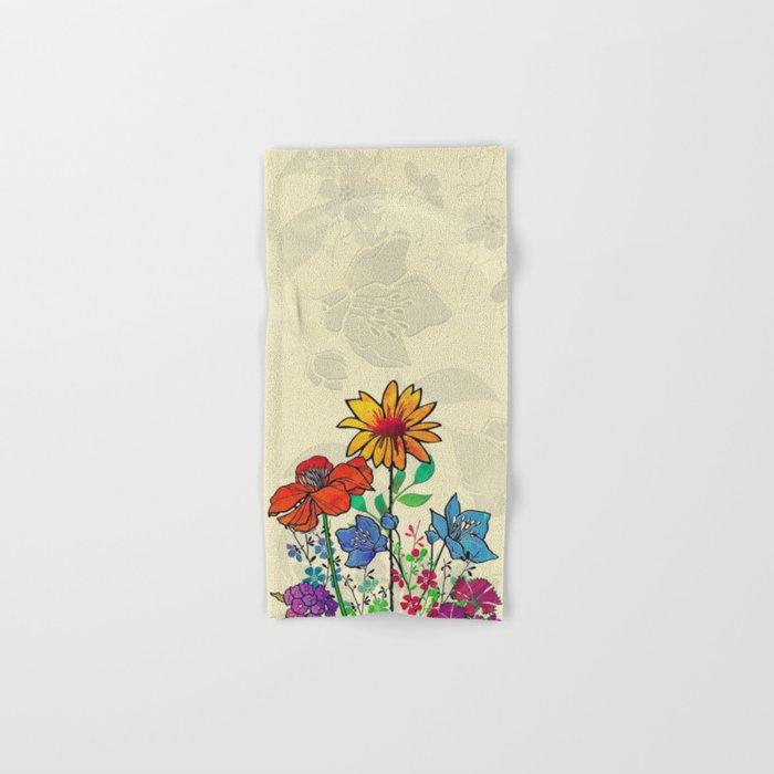 Flower Tales 5 Hand & Bath Towel