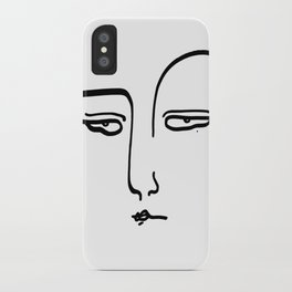 Jasmine's Judging iPhone Case
