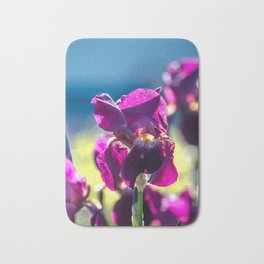 Irises Bath Mat